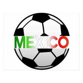 el Tricolor Mexico Soccer Team Postcard