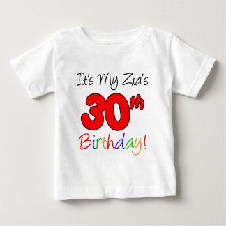 El trigésimo cumpleaños de Zia Playera De Bebé
