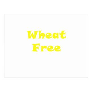 El trigo libera postal