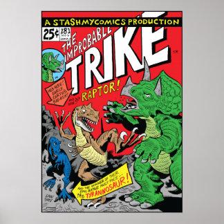 El Trike improbable por la impresión/el poster de