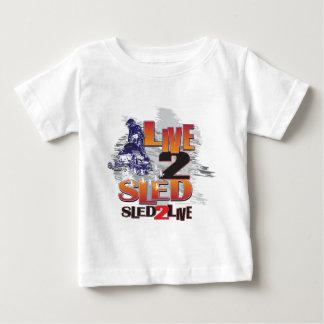 El trineo 2 vivo vive el trineo 2 camisas