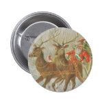 El trineo de Santa del vintage Pin