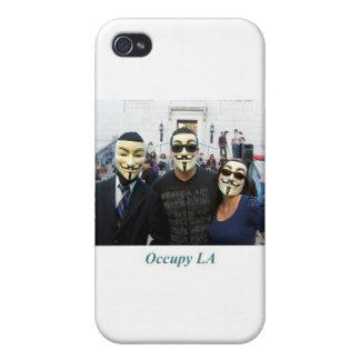 El trío anónimo Day7 ocupa el LA iPhone 4 Funda