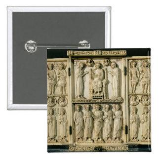 El tríptico de Harbaville que representa a Cristo  Pins
