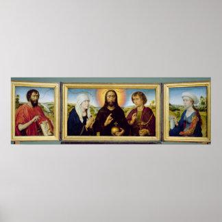 El tríptico de la familia de Braque, St. John Posters