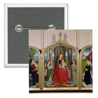 El tríptico de la familia de Sedano, c.1495-98 Pins