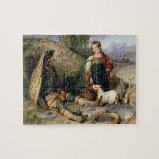 El triturador de piedra y su hija, 1830 puzzle