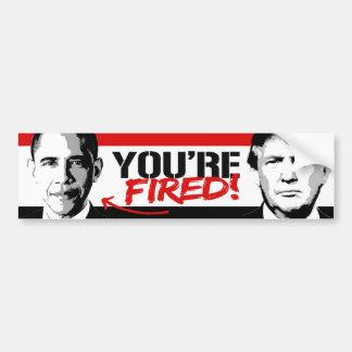 El triunfo dice - Obama le encienden - .png Pegatina Para Auto