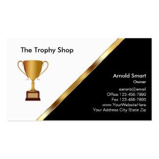 El trofeo concede tarjetas de visita