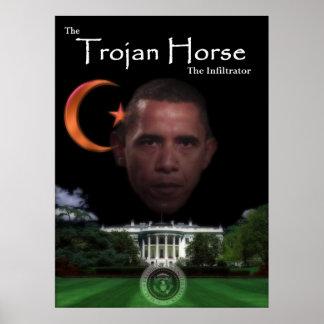 El Trojan Horse - el infiltrado Posters