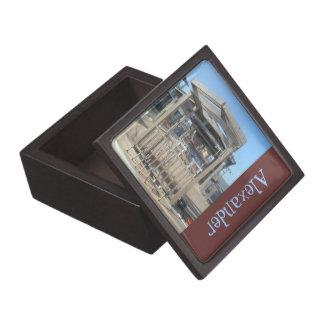 El trole personalizó la caja de regalo superior cajas de joyas de calidad