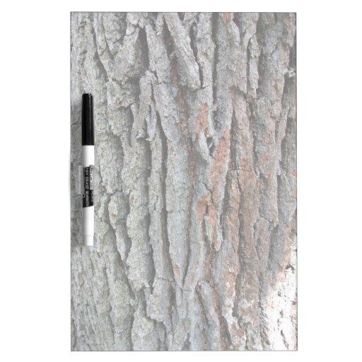 El tronco de un roble vivo pizarras blancas de calidad
