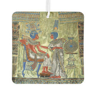 El trono de Tutankhamon