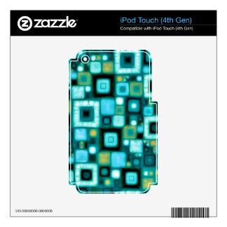El trullo ajusta el modelo iPod touch 4G calcomanías