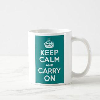 El trullo guarda calma y continúa taza clásica