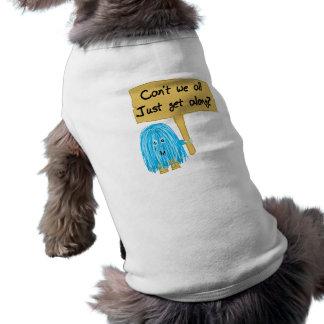 El trullo no puede nosotros conseguir adelante playera sin mangas para perro