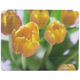 El tulipán amarillo florece la caja del iPad Cubierta De iPad