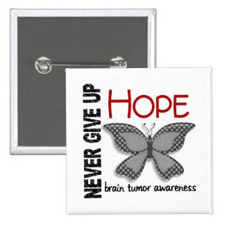 El tumor cerebral nunca da para arriba la mariposa pin
