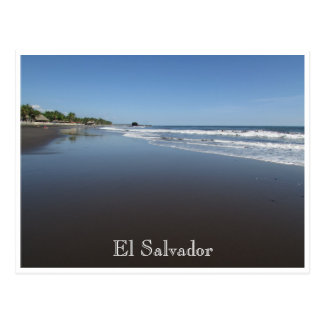 el tunco beach postcard