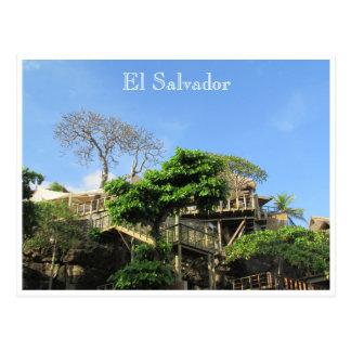 el tunco hotel postcard