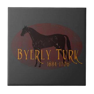 El turco de Byerly Azulejo Cuadrado Pequeño