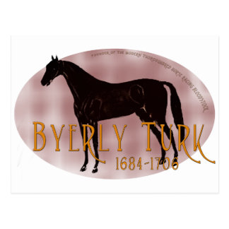 El turco de Byerly Tarjeta Postal