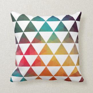 El turco inspiró el modelo geométrico colorido 3a almohadas