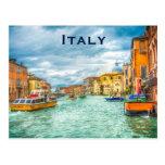 El turismo del viaje del vintage de Italia añade Tarjetas Postales