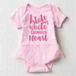 El tutú rosado personalizado robó mi corazón de remeras