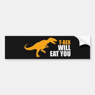 El Tyrannosaurus Rex le comerá Pegatina Para Auto