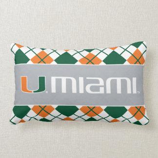 El U Miami Cojín