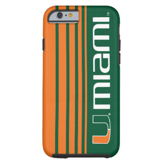 El U Miami Funda De iPhone 6 Tough