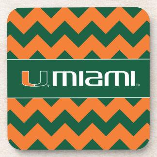 El U Miami Posavasos De Bebida