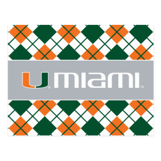 El U Miami Postales