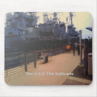 El U.S.S. El Sullivans (DD-537) Mousepad