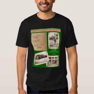el UAW 1937 Sienta-Abajo el pedernal de la camisa