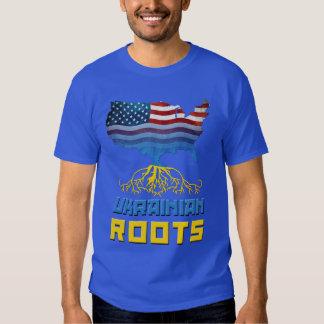 El ucraniano americano arraiga las camisetas polera