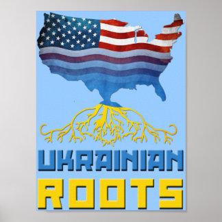 El ucraniano arraiga el poster