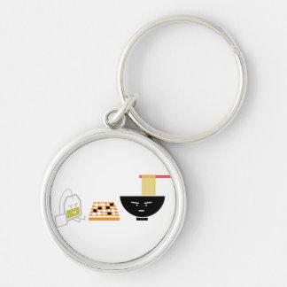 El Udon y el jugar verde de la bolsita de té van l Llaveros Personalizados