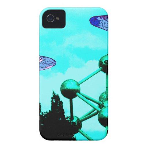 el UFOs Case-Mate iPhone 4 Fundas