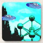 el UFOs Posavasos De Bebida