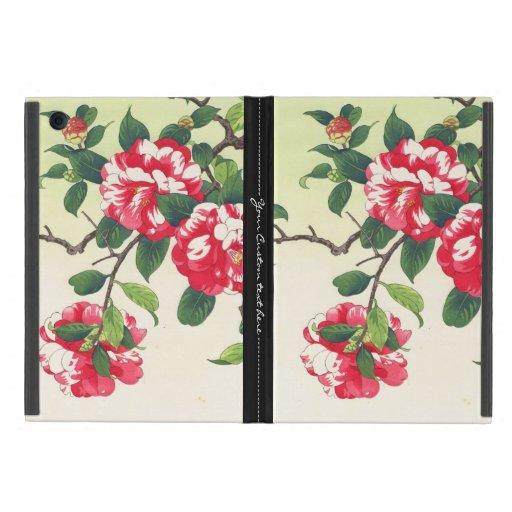 El ukiyo-e de Camelia Nishimura Hodo florece arte iPad Mini Cárcasa