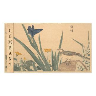 El ukiyo-e de varios colores de Kuwagata Keisai de Tarjetas De Visita