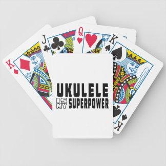 El Ukulele es mi superpotencia Baraja