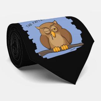 ¡El último búho coge los ratones más gordos! Corbatas