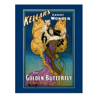 El último ~ de la maravilla de Kellar la mariposa  Postales
