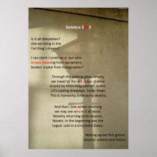 El último día: Poster del 21 de diciembre de 2012