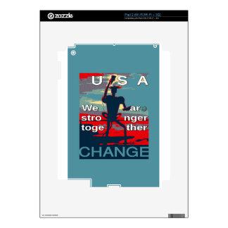 El último lema de la campaña de Hillary Clinton Calcomanía Para iPad 2