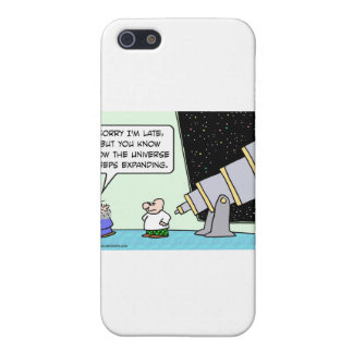 el último universo del astrónomo guarda el ampliar iPhone 5 carcasas
