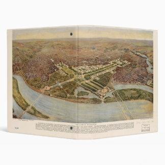 "El último Washington D.C. Map (1915) Carpeta 1"""